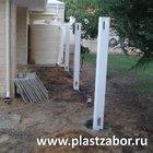 Столб заборной секции Классик DP002, 12.7х12.7х274 см