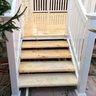 Пластиковые перила для балкона, лестницы и веранды.