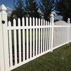 Пластиковый забор - штакетник из ПВХ профиля Кантри DP303, 113х183 см, цвет белый
