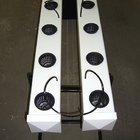 Желоб для гидропонной установки 12,7х12,7х228 см белый.